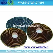bitumen and bentonite water absorbent sealant platic strips