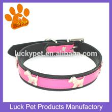 Wholesale Factory Price Pu Leather Decorative Cheap Dog Collar