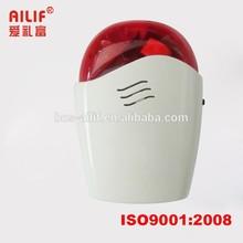 LED Red Alarm Siren Wireless Panic Button(ALF-WS121)