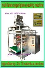 Automatic multi-lane 4-side grains/sugar/spice/salt packing Machine