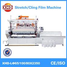 New Condition and PE Plastic Processed stretch film machine