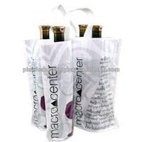 Plastic Bottle Retail Tote Bag OEM Soft Loop Handle Bag