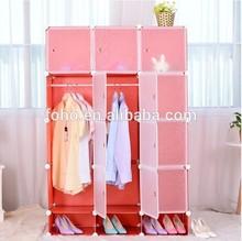 DIY cupboard folding almirah buy online open cupboard wardrobe design (FH-AL0742-12)