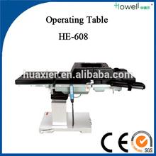 Eléctrica de funcionamiento equipos / usado fluoroscópica mesa de operaciones