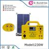 Multifunction panel 500 watt solar panel system