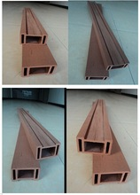 2015 Popular and Cheap Hollow indoor wpc floor wood plastic composite