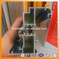 fabricante de la marca haida aaluminum puerta de la aleación material triángulo de aluminio de extrusión de perfiles