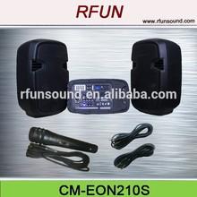 10 inch active combo speaker