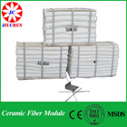 refractory material heat insulation ceramic fiber module for industrial furnace