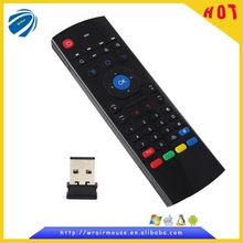 2.4GHz wireless mini USB air mouse keyboard remote control for smart TV/TV dongle /Android TV box