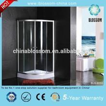 Satin finished aluminium frame simple shower room,enclosed shower room,shower enclosure