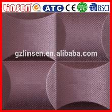 2015 Professional factory hot sale foam pvc 3d decorative wall panel