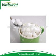 Low calories stevia cube sugar