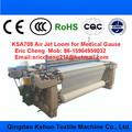 2015 ksa-708 gaze cirúrgica médica gaze atadura que faz a máquina a jato de ar tear