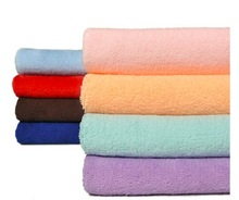 Quick dry Nano superfine 85%polyester and 15%polyamide microfiber towel for beach