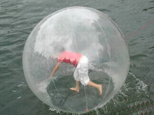 Inflatable sport games new style walk on water ball