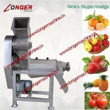 Piña de trituración y máquina de extracción de jugo de melón máquina de exprimir el jugo