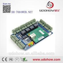 Four doors Web base access control Printed Circuit Board Kit