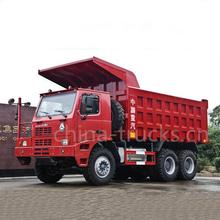 2015 sinotruk howo camiones de minería 6x4 70 camiones ton minería volquete camiones para la venta