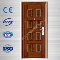 The High Quality Metal Door Steel Security Door For Apartment