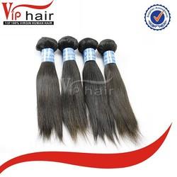 Alibaba best quality 100% human virgin brazilian straight remy myanmar human hair