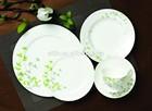 30pcs Luxury Fine Bone China Dinner Set Dinnerware for 6 people
