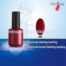 salon shining uv/led nail gel polish