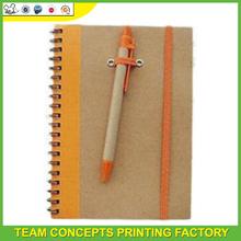 custom printed a4 wholesales bulk spiral notebook