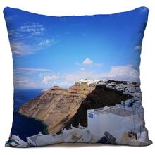 Digital printing Aegean sea baby pillow, custom made Aegean sea baby pillow, dye sublimation Aegean sea baby pillow