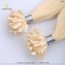 Hot!! Popular Human Hair Guaranteed Italy Socape Keratin Soft Safe Europe human hair best quality nail hair