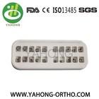 orthodontic metal roth 022 brace