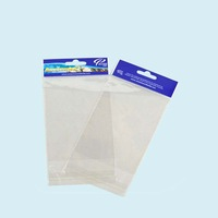 OPP clear self adhesive seal plastic bag with header