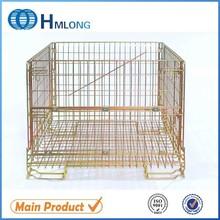 European standard wine storage heavy duty wire mesh stacking bins
