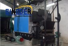 Supply DZL series Biomass/Wood/Coal fired oil burning boiler steam marine steam solid fuel steam boiler -SINODER