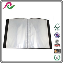wholesale polypropylene A4 size file folder school supply
