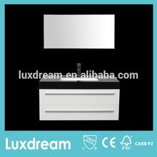Factory direct bathroom vanities with black granite top