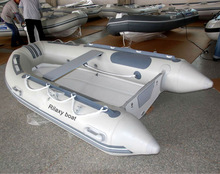 small rigid hull boat inflatable