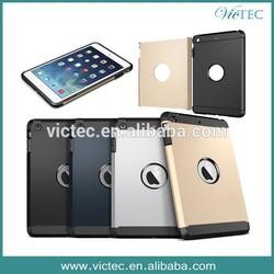 Shockproof heavy duty hybrid tablet case for iPad Mini