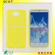 Tpu cellphone case inside scrub matte covers for MOTO XT1254