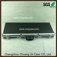 Hot sell aluminum gun case with foam inside good quality manufacturer