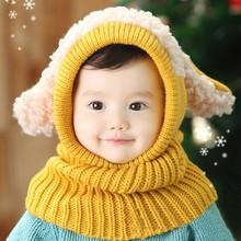 2014 Baby Boys Girls Children Knit Winter Warm Baby Snowman Hat SV012641