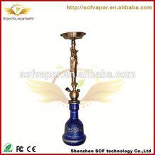 e hookah SOF 600 puffs hookah shisha charcoal smoking pipe for bubbler