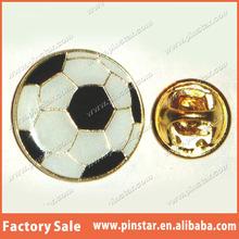 China supply Football Soccer Ball Lapel Hat Cap Tie Pin Badge lapel pin badge