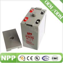 2V600AH AGM solar panel 2V power battery