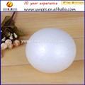 Yipai Craft 80 mm blanco ampliado bola de espuma de poliestireno