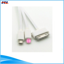 3 in 1 charger usb 2.0 cable multi-function cellphone cable