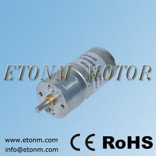 25mm micro gear motor 6v dc geared motor 12v 30rpm with encoder