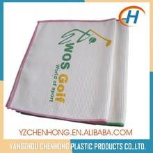Microfiber Custom Gym Towel with Attachment For Keys