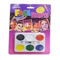 Peinture pour le visage 3141106-11 halloween forment non- toxiques halloween face peinture kit