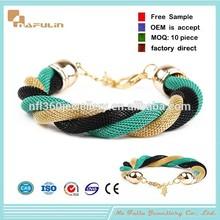 Wholesale Fashion Snake Chain Metal Brazalete
